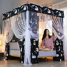ZLVY Rideau de lit Abat-Jour Tissu moustiquaire