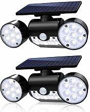 ZLYCZW Lampes solaires extérieures, 30 lumières
