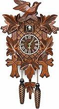 Zoloyo Horloge coucou en bois style rétro