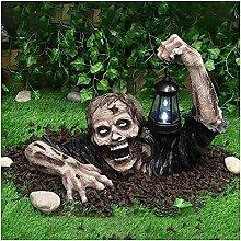 Zombie Lantern Decoration, Halloween Crawling