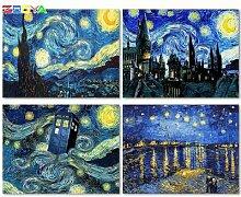 ZOOYA – peinture diamant Van Gogh, broderie de