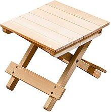 ZOYAFA Marchepied pliable en bois portable pour
