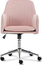Zoyo Chaise de Bureau en Velours pour Fille