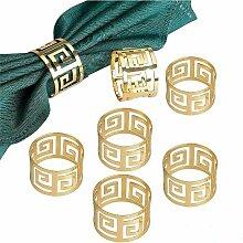 Zqyrlar - 12 pièces ronds de serviette