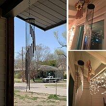 Zqyrlar - Carillons éoliens à 18 tuyaux en métal