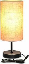 Zqyrlar - Lampe de Chevet E27 Lampe de Table de