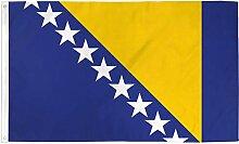Zudrold 3x5 Drapeau de la Bosnie-Herzégovine