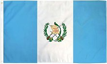 Zudrold 3x5 Drapeau du Guatemala bannière de Pays