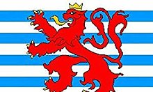 Zudrold 3x5 Luxembourg Royal Lion Ensign Flag