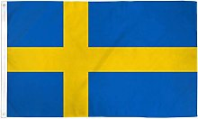 Zudrold 3x5 Pieds Drapeau de la Suède bannière