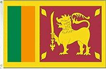 Zudrold 3x5feet Sri Lanka Flag Republic Banner