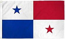 Zudrold 5x3 Ft Panama Drapeau Amérique Centrale