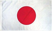 Zudrold 5x3 pi Drapeau du Japon bannière