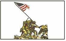 Zudrold Bataille d'Iwo Jima Drapeau WWII