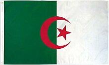 Zudrold Drapeau de l'Algérie 3x5 bannière de