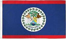 Zudrold Drapeau du Belize 3 x 5 Fanion de Pays