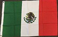 Zudrold Drapeau du Mexique Bannière Mexicaine