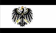 Zudrold Drapeau Royaume de Prusse 3x5Allemagne