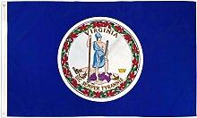 Zudrold Drapeau Virginia VA State Banner Fanion 3x5