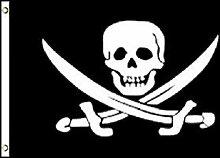 Zudrold O3 Jack Rackham Jolly Roger Drapeau Pirate