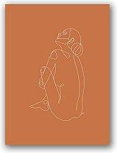 zuomo Au-Dessus du lit Mur Art Impressions sur