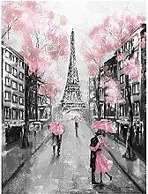 zxianc Impressions sur Toile Tour Eiffel Peinture