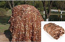 ZXL Abat-Jour Desert Camouflage Net Sun Block