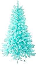 ZYDSN Sapin de Noël artificiel crypté Bleu