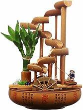 Zyj Fontaines d'intérieur Bambou Bureau