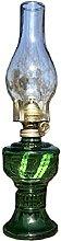 ZYJTGH Buddha Lampe de kérosène, Ancienne Lampe