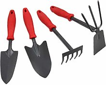 ZYL 1 Ensemble d'outils de Jardin Pelle en