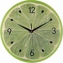 ZYUEER Horloge Murale Imprimé des Fruits, Style