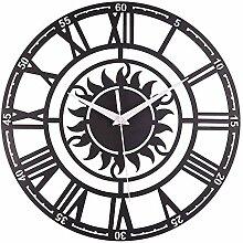 ZYUEER Horloge Pendule Murale Style Vintage -