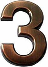 ZZDT Belle Numéro de Maison de 6 Pouces, numéro