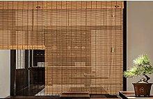 ZZRS Rideau de bambou extérieur étanche rideau