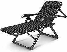 ZZX Chaise Pliante Transat Jardin Chaise Longue