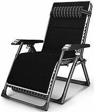 ZZX Chaise Pliante Transat Jardin Chaise Longue,